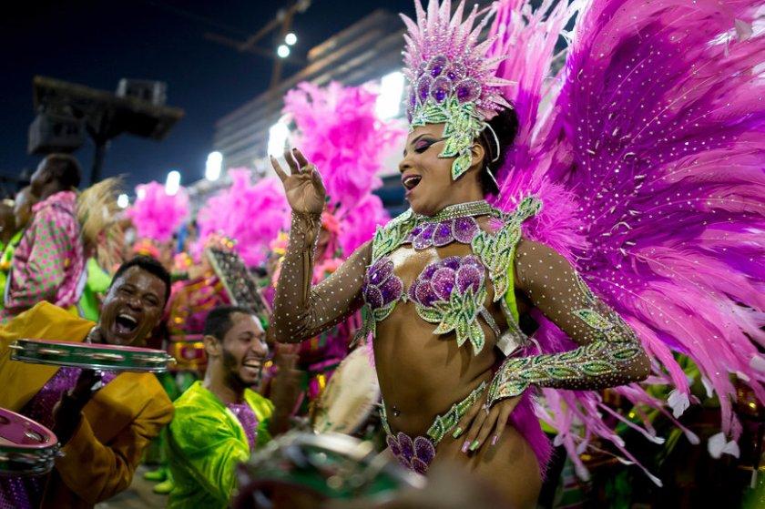 Rio Carnival 2014 - Day 1